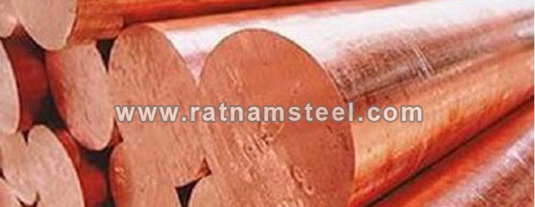 Copper Nickel UNS C70600 round bar exporter in india