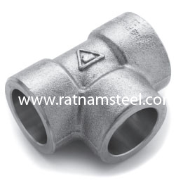 ASTM B564 Monel 400 Equal Tee CL3000‎‎ manufacturer in India