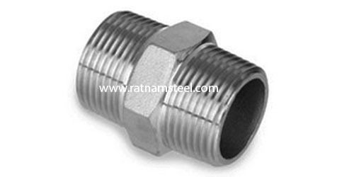 ASTM B564 Monel 400 Hexagon Nipple 60 deg Cone manufacturer in India‎‎