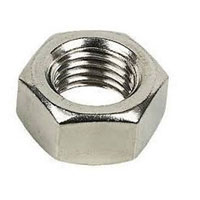 Inconel Finished Hex Jam Nut