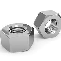 Monel Finished Hex Nuts