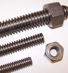 Threaded Rods with Bolts