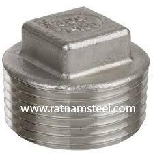 ASTM B564 Monel 400 Forged Square Head Plug‎ manufacturer in India