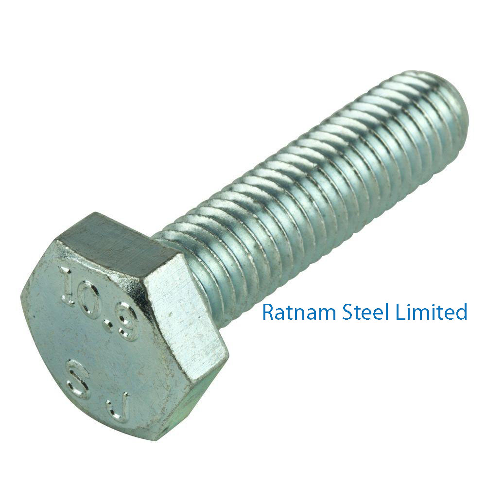 Stainless Steel AL-6XN Cap Screws & Hex Bolts manufacturer in India