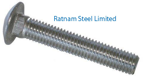 Stainless Steel AL-6XN Carriage Bolts manufacturer in India