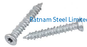 Stainless Steel AL-6XN Concrete Screw manufacturer in India