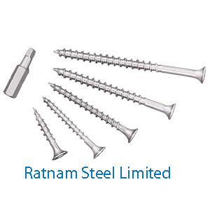 Stainless Steel AL-6XN Construction screws manufacturer in India