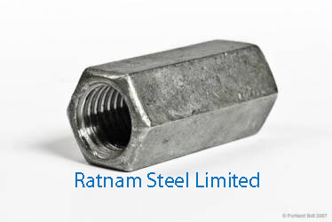 Stainless Steel AL-6XN Coupling Nuts manufacturer in India