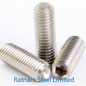 Stainless Steel AL-6XN Grub Screw manufacturer in India