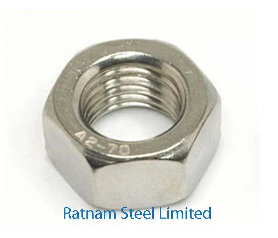 Stainless Steel AL-6XN Hex Nuts manufacturer in India