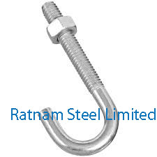 Stainless Steel AL-6XN J-Bolts manufacturer in India