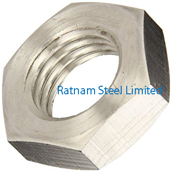 Stainless Steel AL-6XN Jam Nuts manufacturer in India