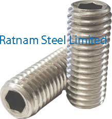 Stainless Steel AL-6XN Metric set screws manufacturer in India