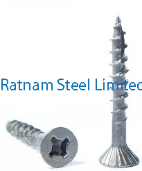 Stainless Steel AL-6XN Particle Board Screw manufacturer in India