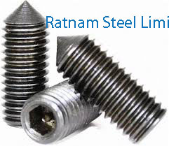 Stainless Steel AL-6XN Set screws manufacturer in India