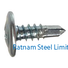 Stainless Steel AL-6XN Sheet metal screws manufacturer in India