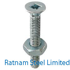 Stainless Steel AL-6XN Stove Bolt manufacturer in India