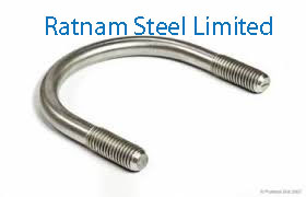 Stainless Steel AL-6XN U-Bolts manufacturer in India