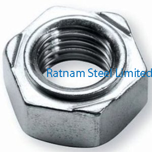 Stainless Steel AL-6XN Weld Nuts manufacturer in India