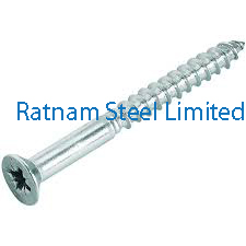 Stainless Steel AL-6XN Wood Screw manufacturer in India